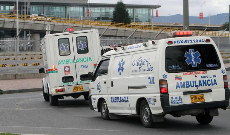 Seguridad ciudadana: Un médico resultó gravemente herido en medio de un atraco en Bogotá