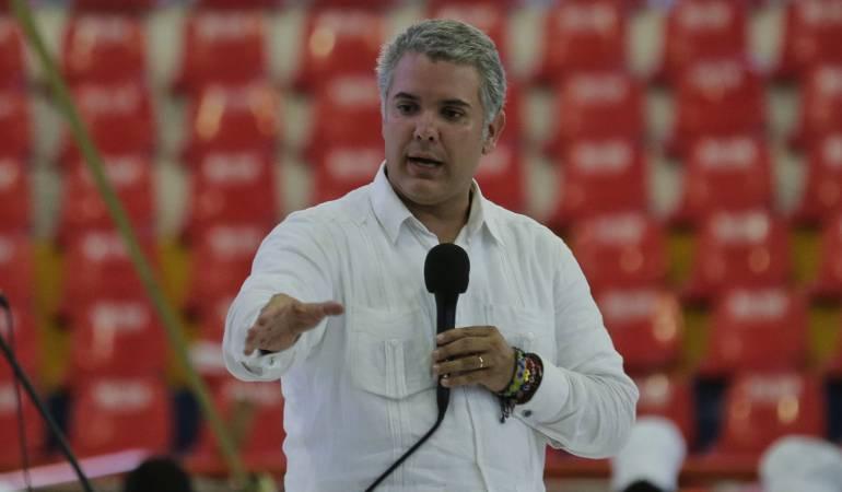 Alcalde Cartagena: Presidente Duque estudia terna sobre alcalde de Cartagena