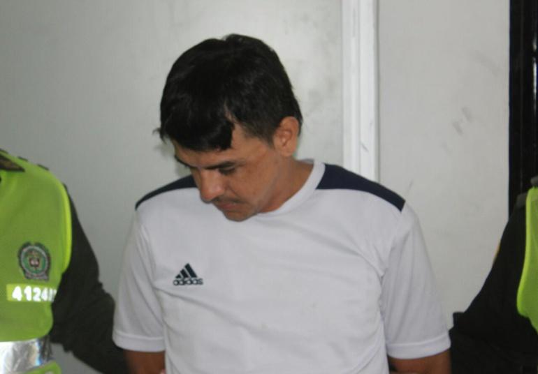 George Darío Palomino, hermano de Digno Palomino.