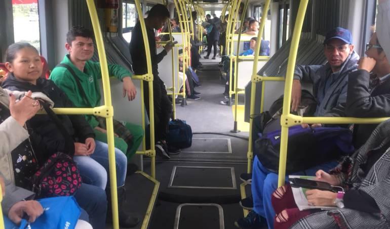 Transmilenio: Así son los nuevos buses de Transmilenio con sillas estilo Metro