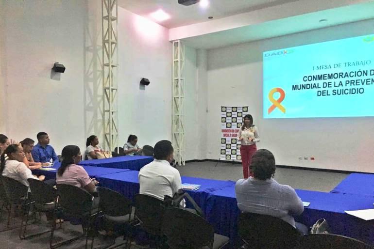Adelanta mesas de trabajo para la prevención del suicidio en Cartagena: Adelanta mesas de trabajo para la prevención del suicidio en Cartagena