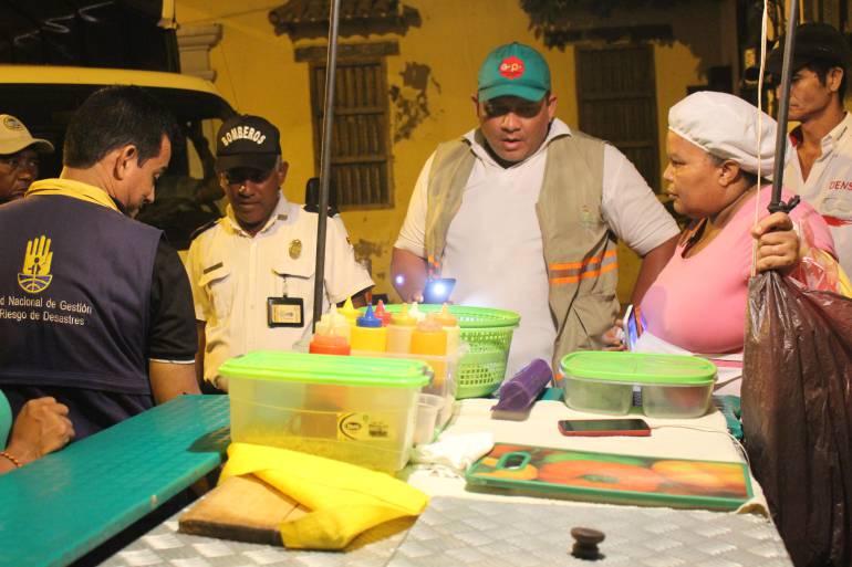 Incrementan inspección de pipetas de gas a ventas informales de Cartagena: Incrementan inspección de pipetas de gas a ventas informales de Cartagena