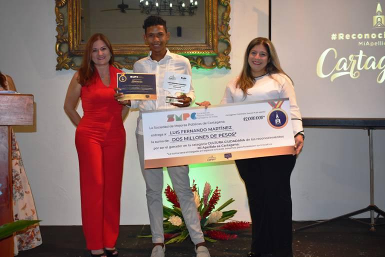 Tres iniciativas premiadas en los Reconocimientos Mi Apellido es Cartagena: Tres iniciativas premiadas en los Reconocimientos Mi Apellido es Cartagena