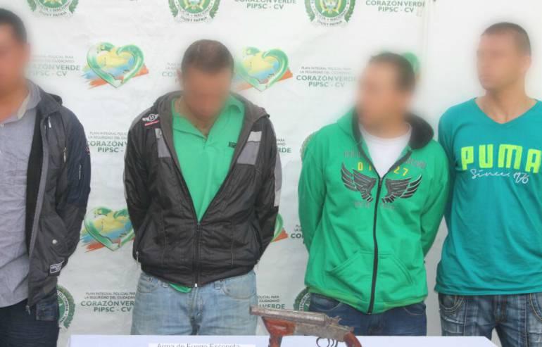capturas, delincuencia: Capturados 18 personas dedicados a la delincuencia común