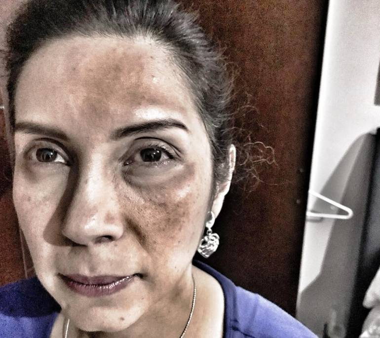 Mujer agrede a pastora dentro de una iglesia cristiana en Cartagena: Mujer agrede a pastora dentro de una iglesia cristiana en Cartagena