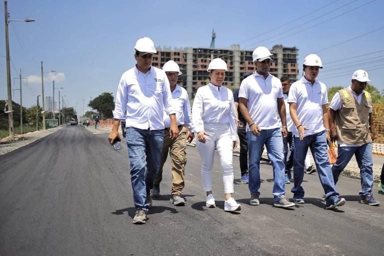 Alcaldesa Yolanda Wong pasa revista a obras de #SeMueveCartagena: Alcaldesa Yolanda Wong pasa revista a obras de #SeMueveCartagena