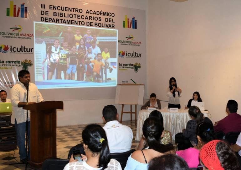 Comienza el V Encuentro de Bibliotecarios de Bolívar: Comienza el V Encuentro de Bibliotecarios de Bolívar