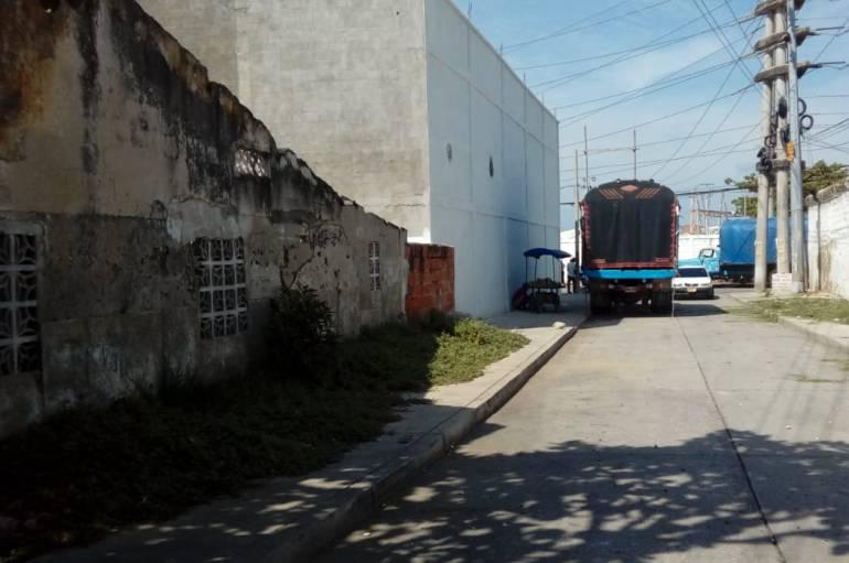 Habitantes del barrio El Prado, en Cartagena, denuncian contaminación: Habitantes del barrio El Prado, en Cartagena, denuncian contaminación