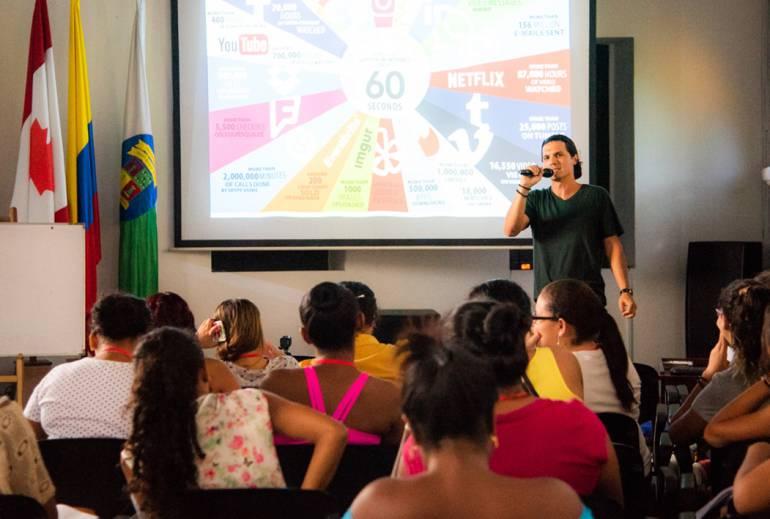 """Amplia participación en """"Canadá en 11 experiencia"""" en Cartagena: Amplia participación en """"Canadá en 11 experiencia"""" en Cartagena"""