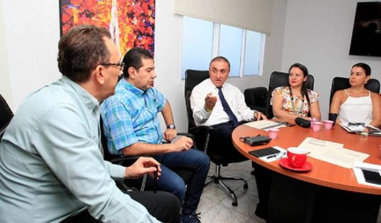 Reunión autoridades y directivas de Coomeva