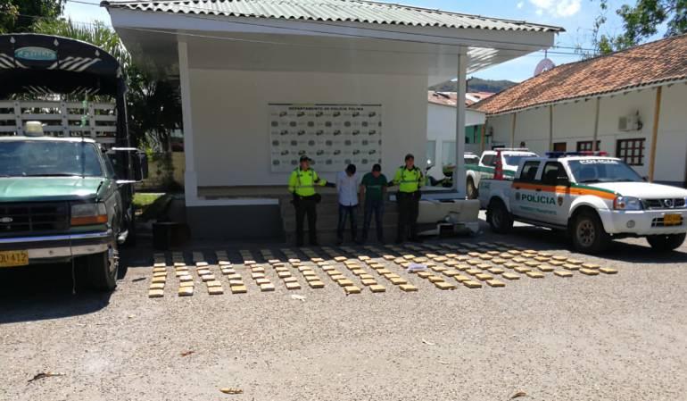Narcotráfico: Cargamento de droga incautado en carreteras del Tolima