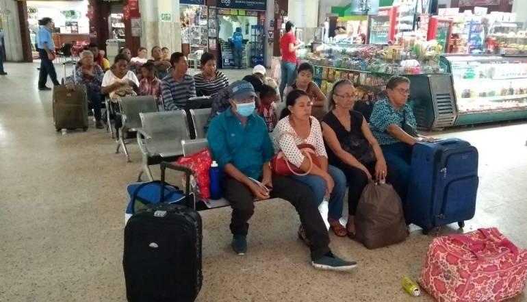 Crisis en Venezuela: 90 venezolanos llegan diariamente a la terminal de Barranquilla