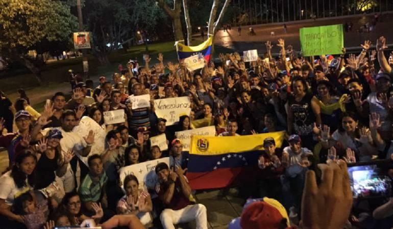 """Migantes venezolanos en Cali: Iglesia pide decretar """"Emergencia Humanitaria"""" por venezolanos en Cali"""