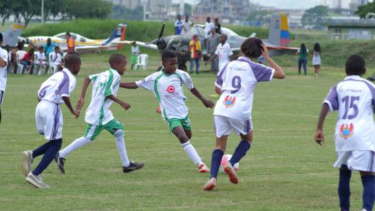 Copa Soñadores: los niños de Cali disfrutaron y aprendieron de juego limpio