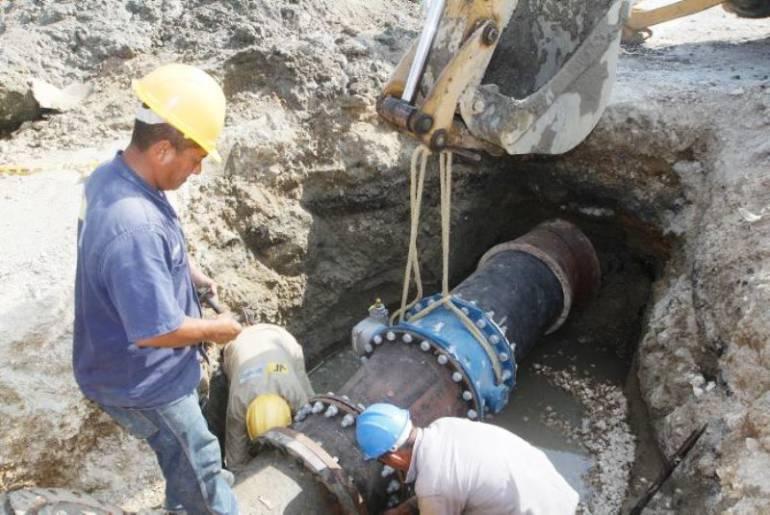 25% de Cartagena, sin agua potable por emergencia: 25% de Cartagena, sin agua potable por emergencia en acueducto