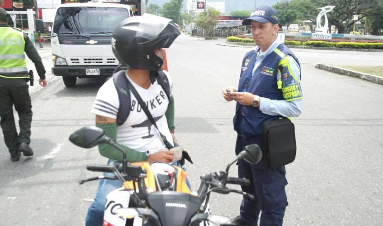 Piques de motos: Operativos contra piques ilegales en Ibagué