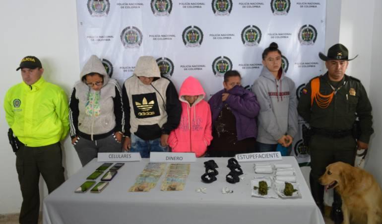 "Capturaron a ""los caminantes"" encargados de distribuir droga en Guática"