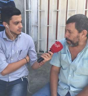 Armando López del sindicato de taxistas de Armenia