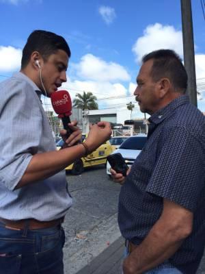 Esau Jaramillo, taxista