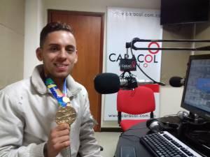 Atleta quindiano Gerard Nicolás Giraldo