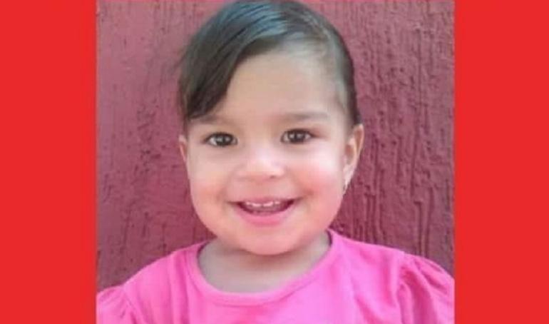 Personas desaparecidas: Una semana completa desaparecida una niña de 21 meses en Bogotá