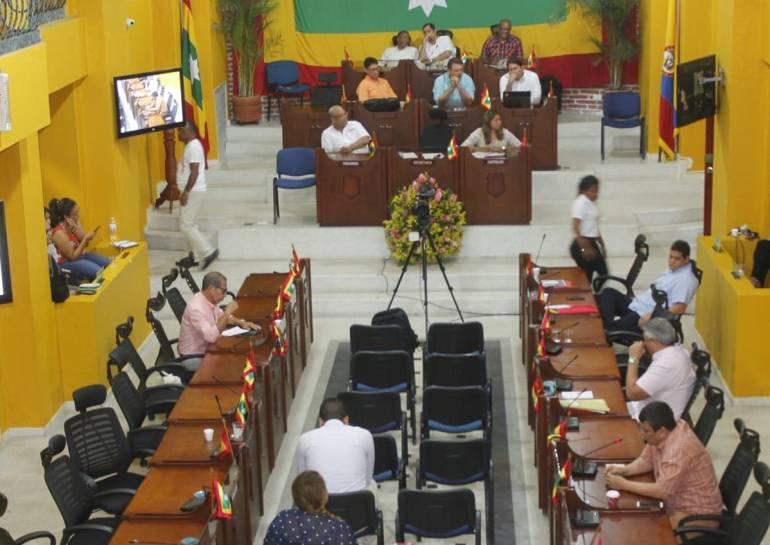 Inquietudes en Concejo de Cartagena sobre manejos financieros: Inquietudes en Concejo de Cartagena sobre manejos financieros