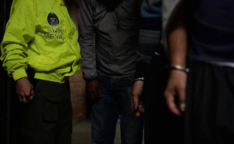 Bandas: Desmantelan banda de atracadores en Av. Oriental y Parque San Antonio
