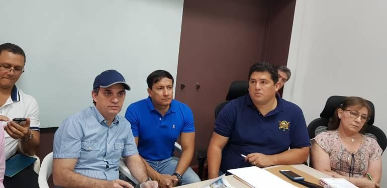 Reunión Gestión del  Riesgo,  Barranquilla.