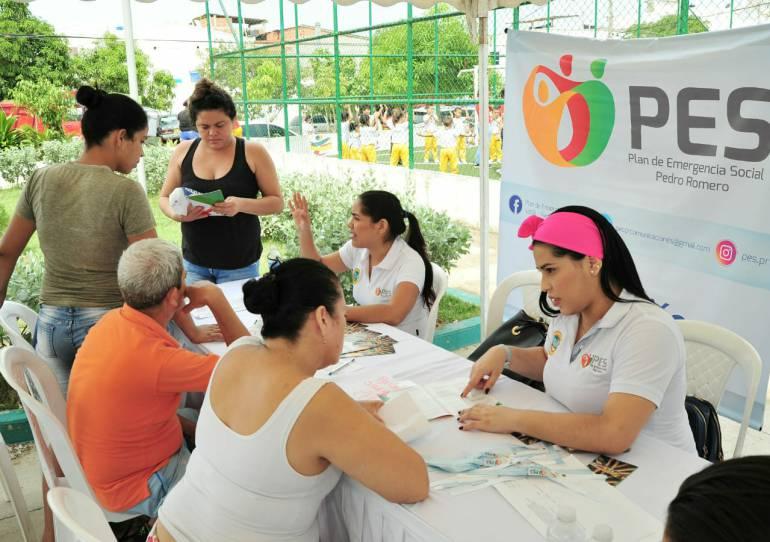 Mil personas fueron atendidas por la casa de Justicia Móvil en Cartagena: Mil personas fueron atendidas por la casa de Justicia Móvil en Cartagena