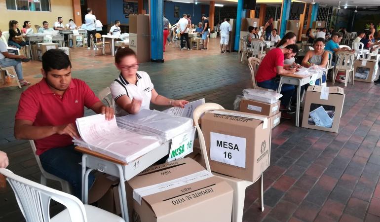 Proceso electoral en Cúcuta