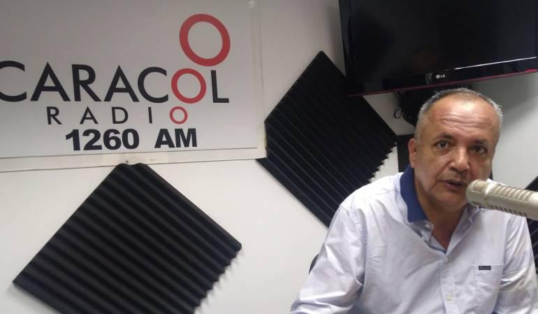 Oscar Barreto, Gobernador del Tolima.