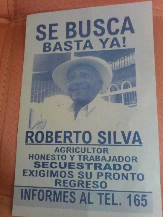 Liberado Don Roberto Silva, de 87 años tras 70 días de secuestro