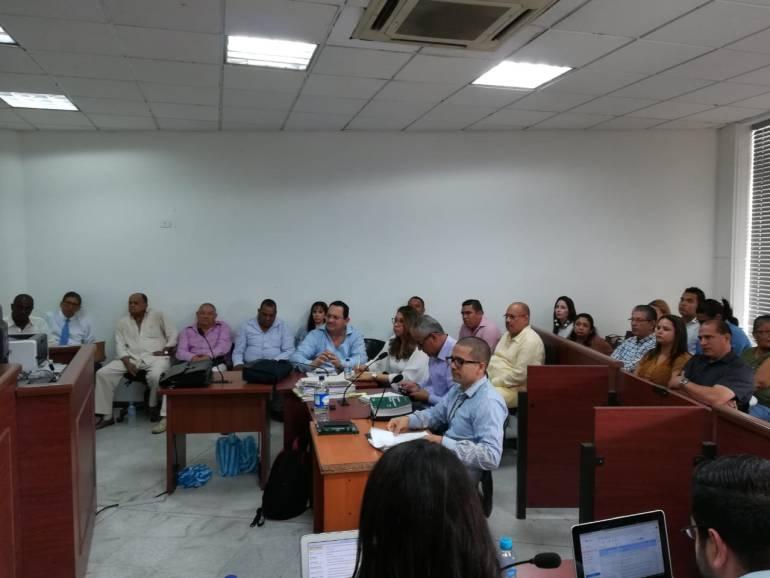Audiencia caso Merlano,Barranquilla.