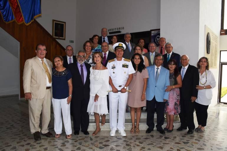 Excomandante de Armada Nacional celebró 50 años de egresado de la Escuela: Excomandante de Armada Nacional celebró 50 años de egresado de la Escuela