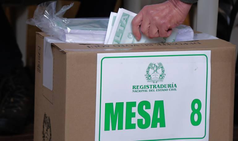 Votación Consulta Anticorrupción