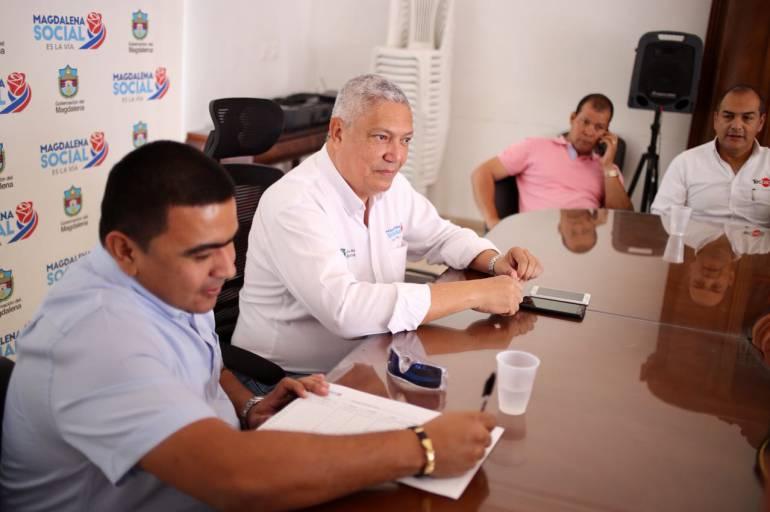 """Seguridad en pueblos del magdalena: """"En Zona Bananera necesitamos más protección"""": alcalde Holmes Echeverría"""