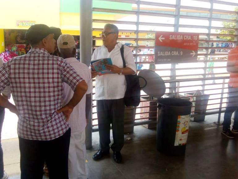 """""""Libro Ruta Gana Cartagena"""" se traslada a las estaciones de Transcaribe: """"Libro Ruta Gana Cartagena"""" se traslada a las estaciones de Transcaribe"""