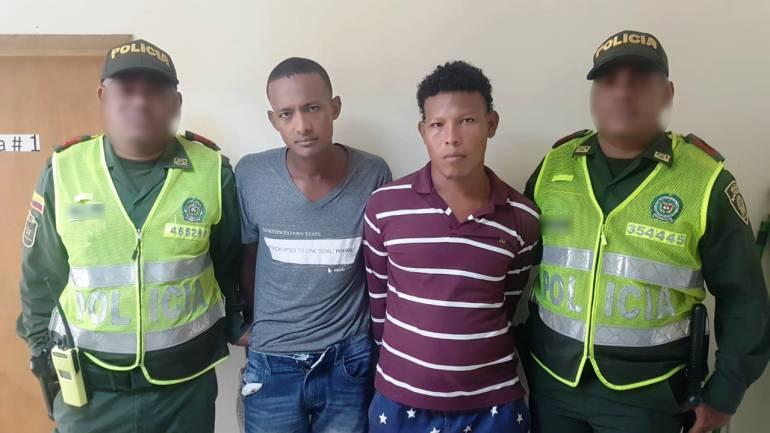 Capturan en Cartagena a cinco atracadores de transeúntes: Capturan en Cartagena a cinco atracadores de transeúntes