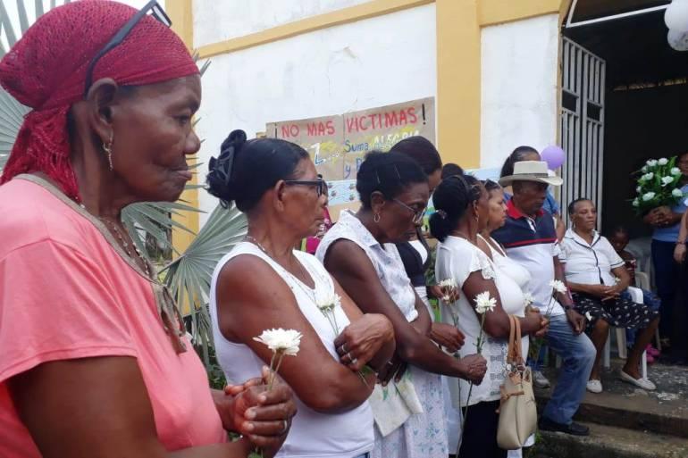 San José de Playón y Arroyo Grande en Bolívar recuerdan a sus víctimas: San José de Playón y Arroyo Grande en Bolívar recuerdan a sus víctimas