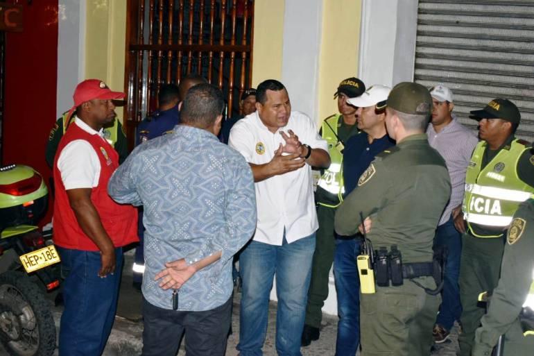 Continúan controles a los establecimientos nocturnos en Cartagena: Continúan controles a los establecimientos nocturnos en Cartagena