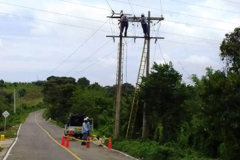 Propietario de predio impide reparar daño eléctrico en la Isla de Barú: Propietario de predio impide reparar daño eléctrico en la Isla de Barú