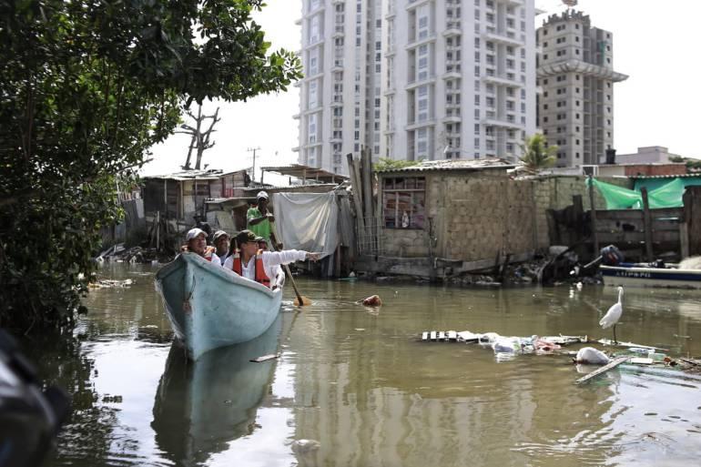 Definen acciones para recuperar el caño Juan Angola en Cartagena: Definen acciones para recuperar el caño Juan Angola en Cartagena