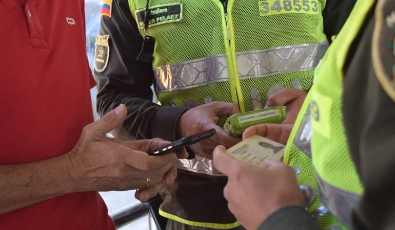 Policía de Pereira en búsqueda de celulares robados: Policía de Pereira en búsqueda de celulares robados