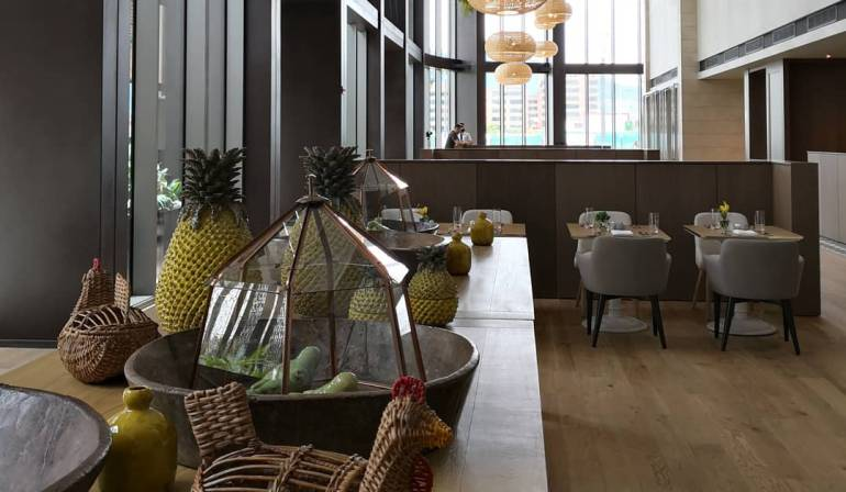 Hotel Grand Hyatt.: Hoy fue inaugurado el Hotel Grand Hyatt de Bogotá