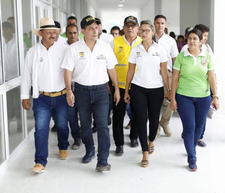 Gobernador de Bolívar inspecciona últimos avances del Hospital de Simití: Gobernador de Bolívar inspecciona últimos avances del Hospital de Simití