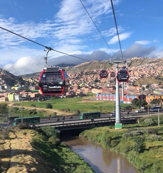Transmilenio aéreo: Ciudad Bolívar ya tiene TransmiCable
