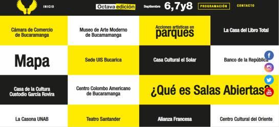 Abrió sus alas el circuito de arte más grande de Bucaramanga: Abrió sus alas el circuito de arte más grande de Bucaramanga