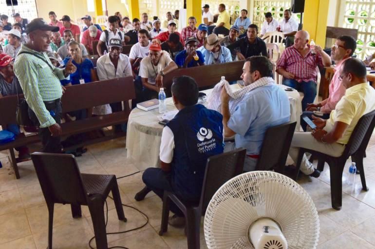 Defensoría del Pueblo evidenció grave situación en el sur de Bolívar: Defensoría del Pueblo evidenció grave situación en el sur de Bolívar