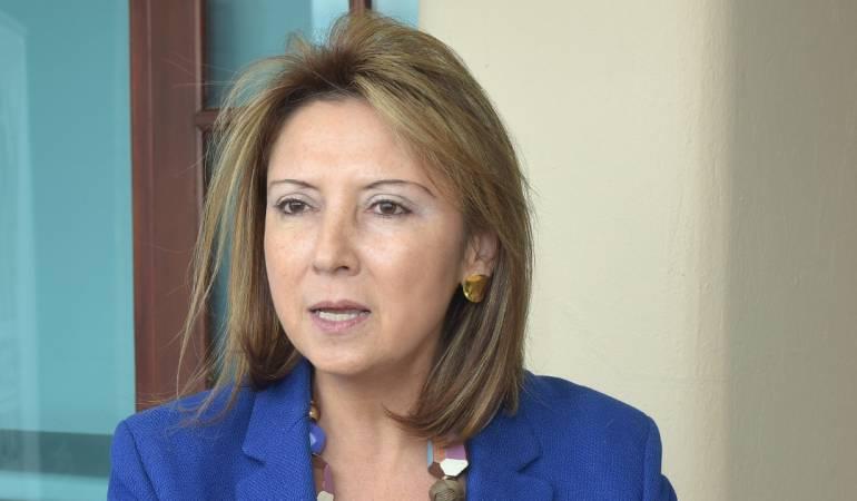 Constanza Rendó Valencia, directora ICBF Regional Caldas