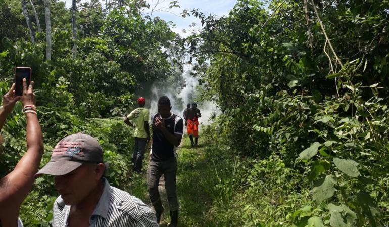 Agresiones a campesinos.: COCAM denuncia agresiones a campesinos en zona cocalera